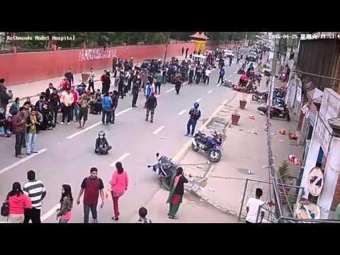 Nepal Earthquake 2015 X clusive kath model hospital Kathmandu vid 1