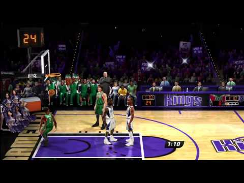 Steph Curry and Brandon Jennings plays NBA JAM at the EA SPORTS Studios