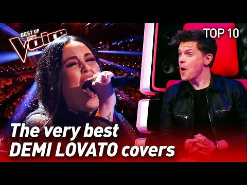 TOP 10 | BEST DEMI LOVATO Covers In The Voice