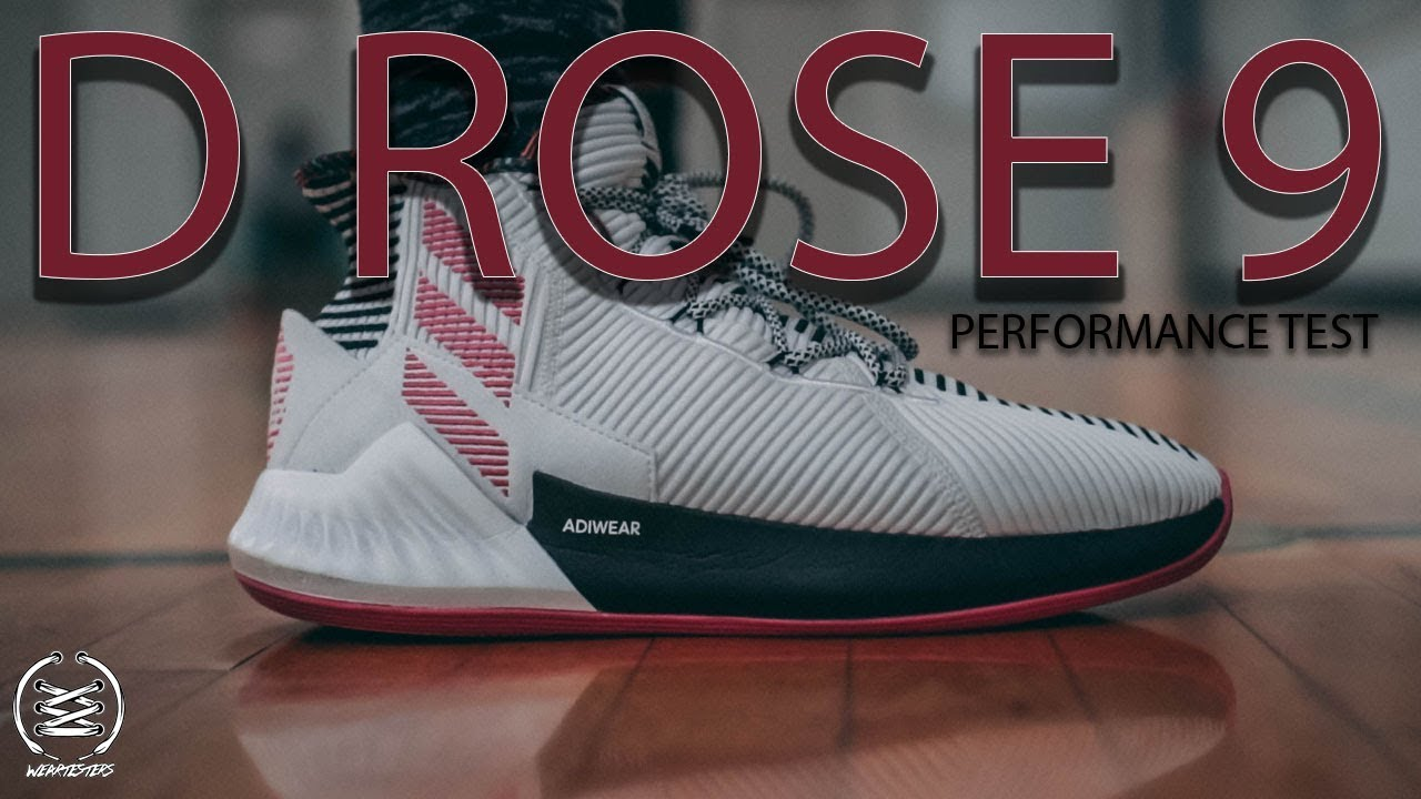 hot sales 6c632 4a1a8 ADIDAS D ROSE 9 PERFORMANCE TEST AND REVIEW!