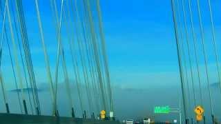 # 77 Zycie w Kanadzie New Port Mann Bridge. between Surrey and Coquitlam