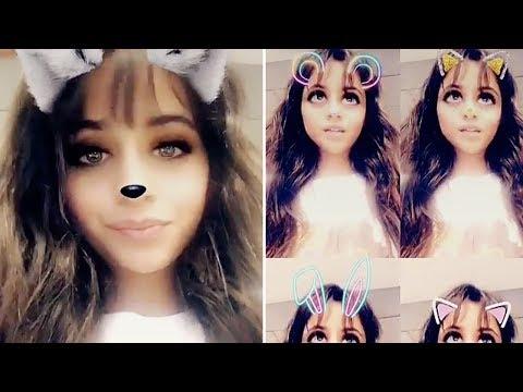 Make Camila Cabello | Snapchat Videos | June 22nd 2017 Snapshots