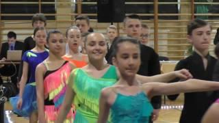 Turniej tańca towarzyskiego - Pustków 2016 - blok 1