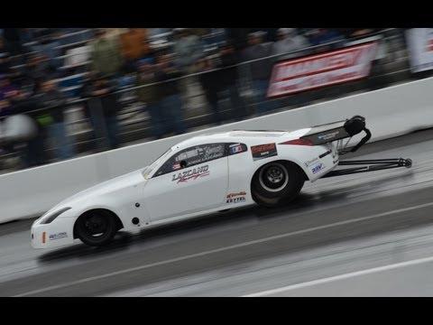 Lazcano Racing 350z NEW RECORD 6.40 @ 218 mph, Jorge Lazcano