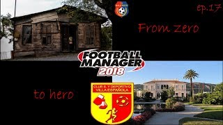 From zero to hero Episode 17 / Villa Española / Football Manager 2018 (CZ)