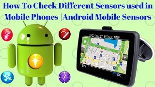 How To Check Different Sensors used in Mobile Phones | Android Mobile Sensors [Hindi/Urdu]