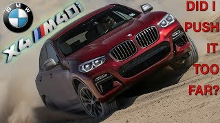 BMW X4-M40i 😱 EXTREME DRIVING in NYC! Fast! Offroad Mudding! Cornering! Potholes!