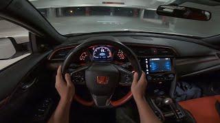 2018 Honda Civic Type R - POV Night Drive