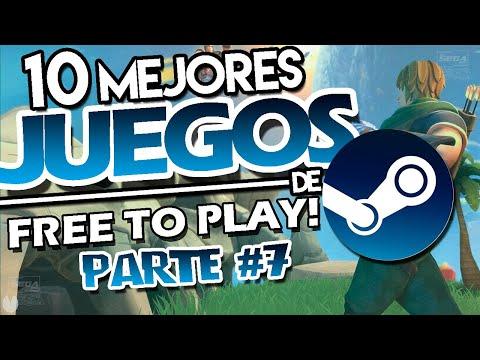 TOP 10 Mejores Juegos De STEAM Para PC (GRATIS) 2019 | 10 Mejores Juegos FREE TO PLAY De STEAM [#7]