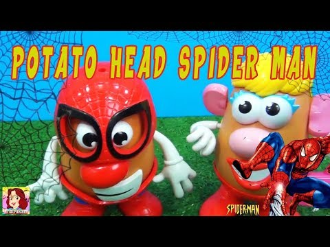 MR POTATO E MISS POTATO HEAD Spider Man UNIVERSAL