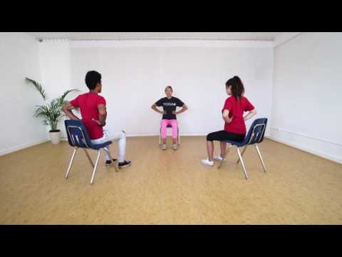 3 Minute Chair Yoga Class for Teens | Ages 14-18