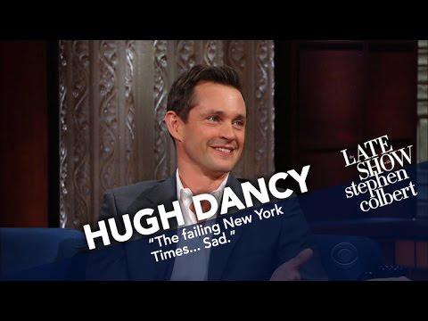 Hugh Dancy Says 'MAGA' Isn't As Bad As A Nation Named Great Britain