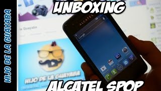 [Unboxing] Alcatel one touch s´pop 4030