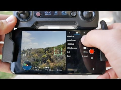 DJI Mavic Pro - BEST PICTURE SETTINGS - With Sample Footage | Momentum Productions