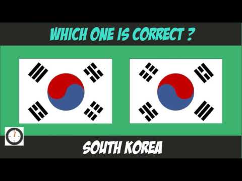 Quick Knowledge Test - Which Flag Is Correct !!