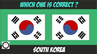 Quick Knowledge Test  Which Flag Is Correct !!