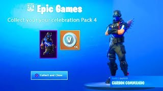 "How To Unlock ""CARBON COMMANDO SKIN"" in Fortnite! (Free Fortnite Skin)"