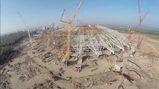 Строительство стадиона #СамараАрена #Samara