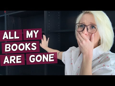 ALL MY BOOKS ARE GONE