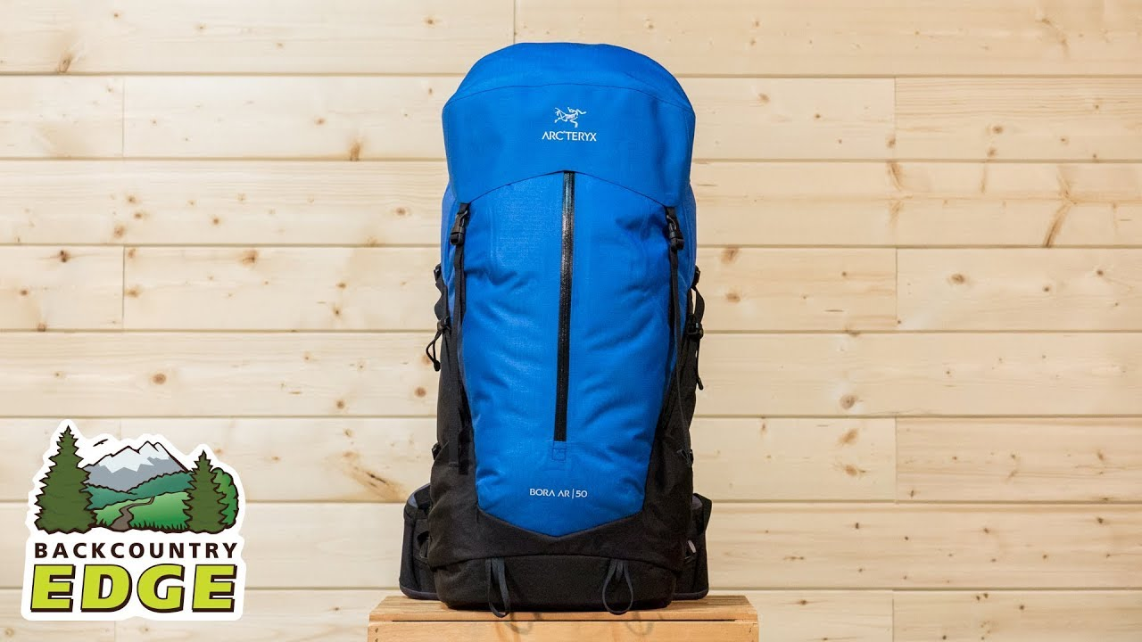 3692364dbe4 Arc'teryx Men's Bora AR 50 Internal Frame Backpack - YouTube