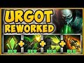 UHH RIOT? NEW REWORKED URGOT W IS 100% UNFAIR! URGOT REWORK SEASON 9 TOP GAMEPLAY! League of Legends