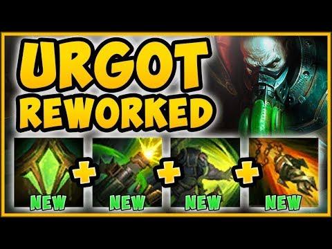 UHH RIOT? NEW REWORKED URGOT W IS 100% UNFAIR URGOT REWORK SEASON 9 TOP GAMEPLAY League of Legends