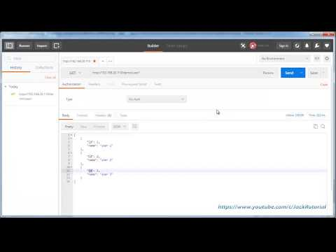 JSON RESTful web services with Spring for Android  - Android Studio Tutorial for Beginners