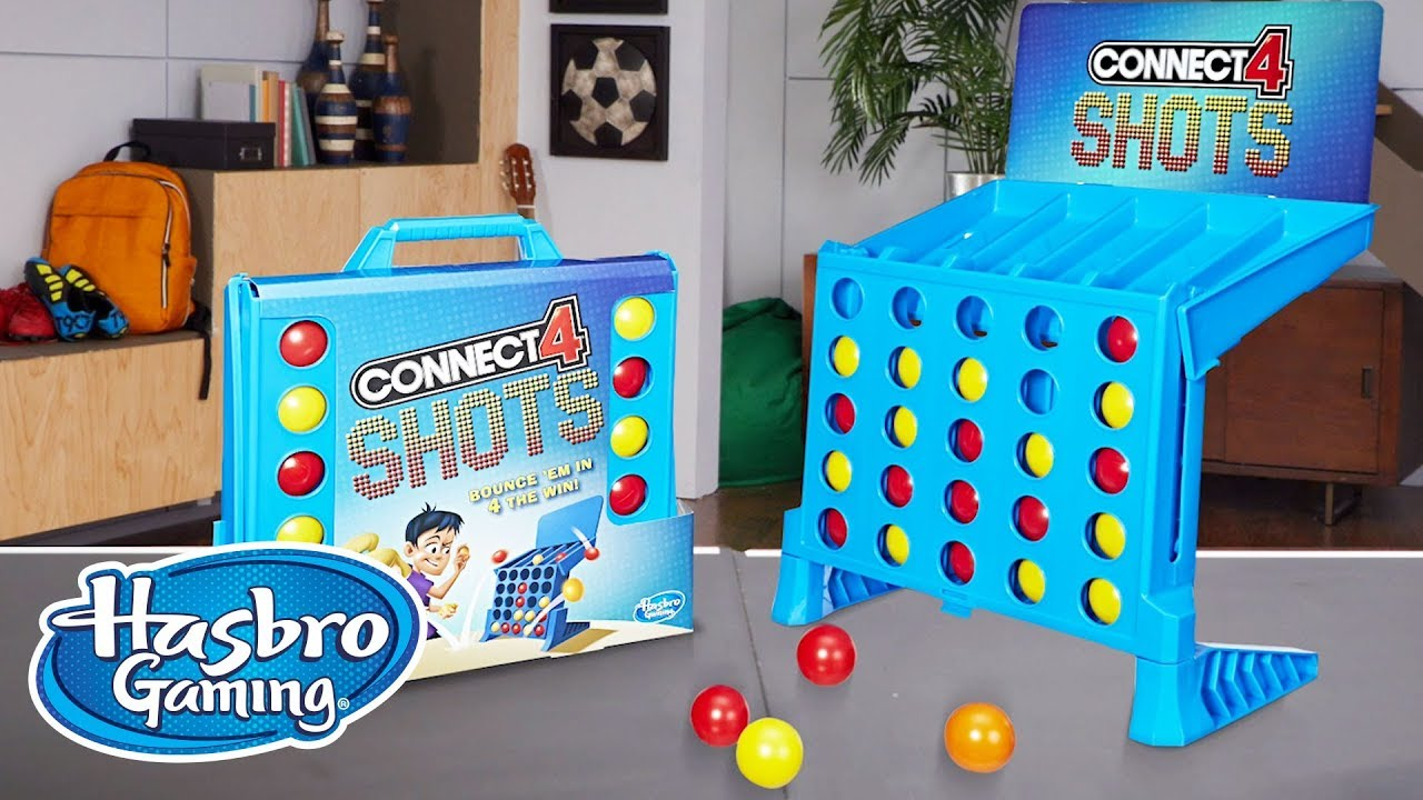 'Connect 4 Shots Game' Official Spot