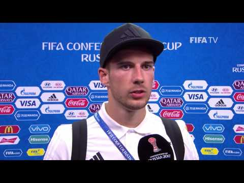 Leon Goretzka Post-Match Interview - Match 4: Australia v Germany - FIFA Confederations Cup 2017