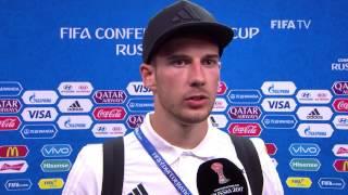 Leon Goretzka Post-Match Interview - Match 4: Australia v Germany - FIFA Confederations Cup 2017