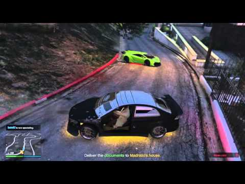 GTA V KARUMA ARMORED VS ZENTORNO STRENGTH CAR BATTLE