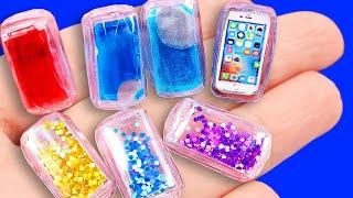 DIY Miniature LIQUID Phone Case