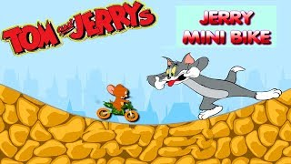 Fun TOM AND JERRY - JERRY MINI BIKE. Tom and Jerry 2017 Games. Baby Games #LITTLEKIDS