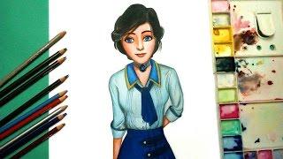 how to draw ❀ Elizabeth Bioshock ❀ Speed painting