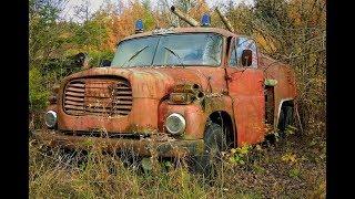 Rezavé Diamanty 8. Kde To Je??Tatra  Vraky Wrecked - Foto Slideshow