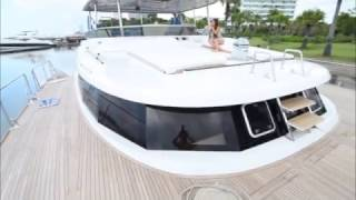 60' Catamaran Asia  cruising in Singapore, Thailand