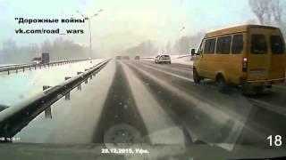 Новая подборка аварии и ДТП от 'Дорожные войны' за 30 12 2015 Видео №2