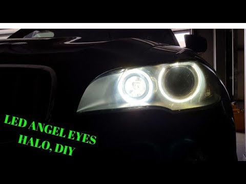 If You Want To Know How To Change Bmw X5 Halo Angel Eyes Drl To A 6000k Upgrade Watch This Diy