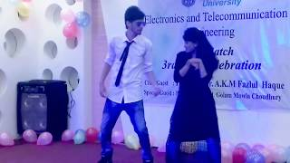 Cheez badi-dance cover by Daffodil international University student
