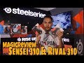 MagicReview - Review Mouse Steelseries RIVAL 310 & SENSEI 310