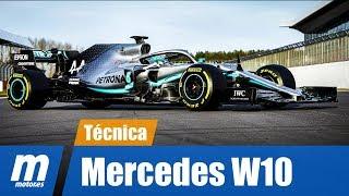 Análisis técnico | Mercedes W10 | Fórmula 1 2019