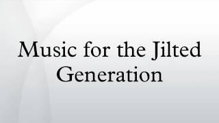 Скачать Music For The Jilted Generation
