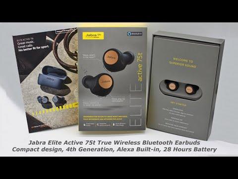 Jabra Elite Active 75t True Wireless Bluetooth Earbuds Review Youtube