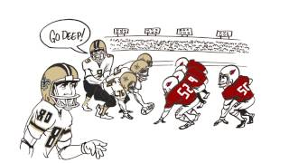 """ESPN """"Numbers Never Lie Whiteboard"""" The Most Unstoppable Player in the NFL - 321 FastDraw"""