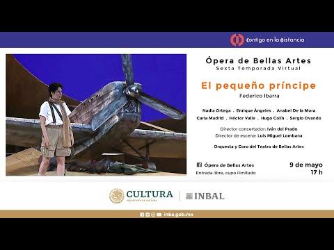 El pequeño príncipe, de Federico Ibarra / Compañía Nacional de Ópera / INBAL / México