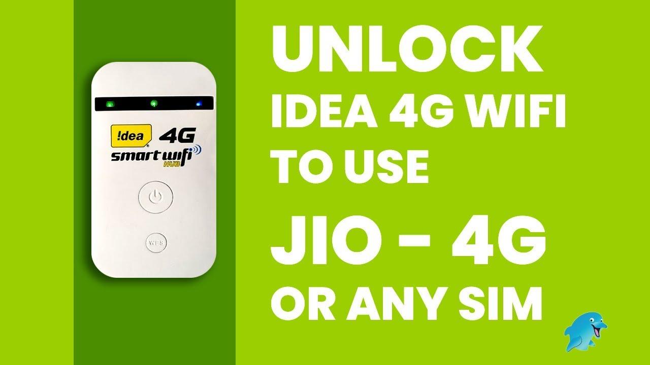 How to Unlock IDEA 4G DONGLE ZTE MF90 Smart WiFi