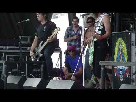 Pierce the Veil  - Yeah Boy and Doll Face (Live 2010 Warped Tour)