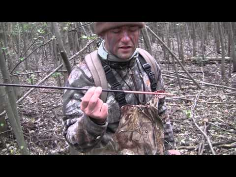 Whitetail Deer Bow Hunt 2014 - Toxic Broadhead - Brian Double Doe Kill Wound Hole