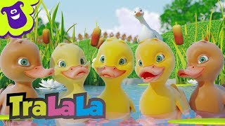 Cinci rіЛuЙte Five Little Ducks ћn rom'nі  TraLaLa
