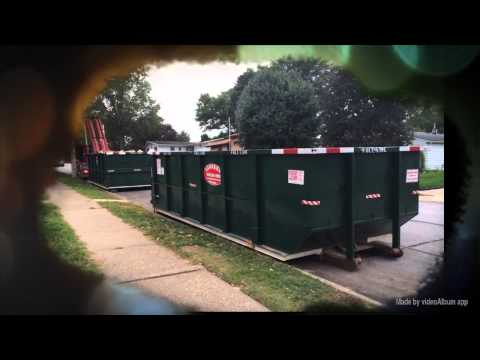 (563) 332-2555 30 Yard Roll Off Dumpster Delivered To Davenport, Iowa
